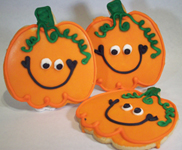 Halloween Pumpkin Cookies