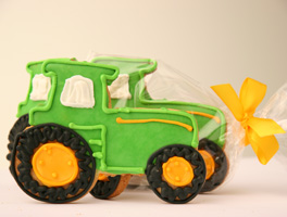 Tractor Cookie